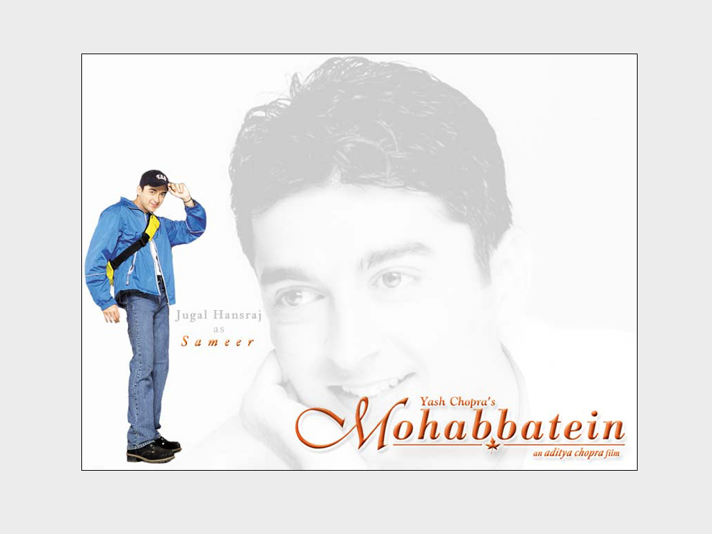 Jugal Hansraj als Sameer aus Mohabbatein